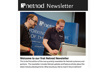 Welcome to our first Netnod Newsletter
