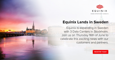 Netnod at Equinix Stockholm launch