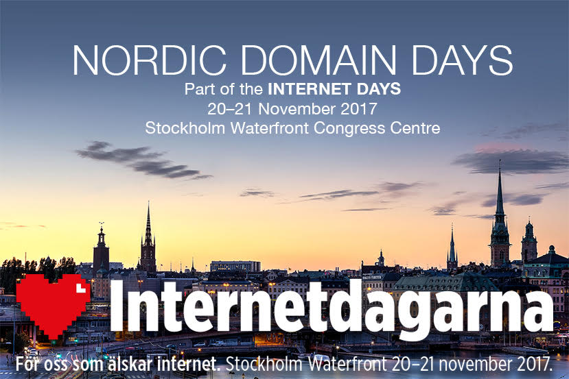 Nordic Domain Days & Internetdagarna 2017