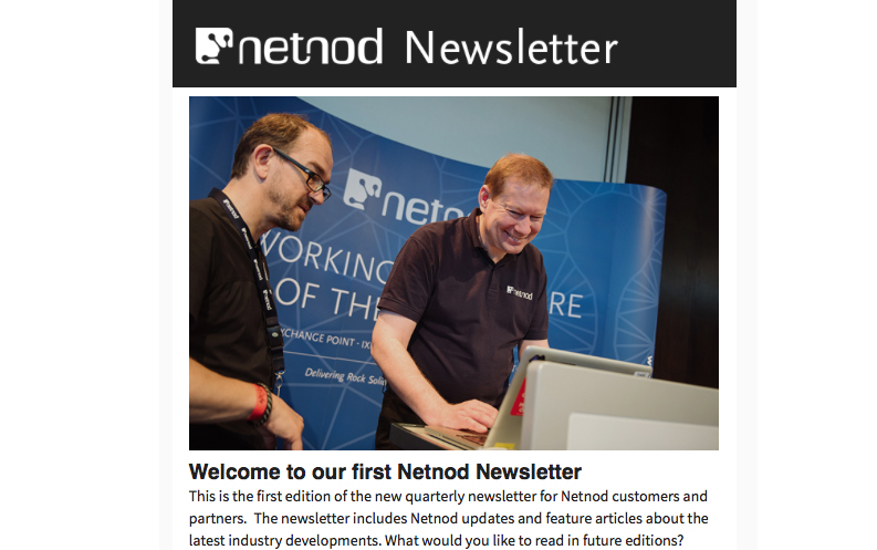 Netnod Newsletter